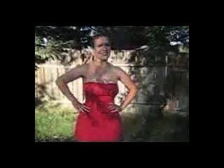 मल Malloy लाल रंग की पोशाक 1