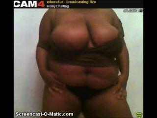 whore4ur Cam4 विशाल Slutty आबनूस स्तन स्ट्रिपटीज