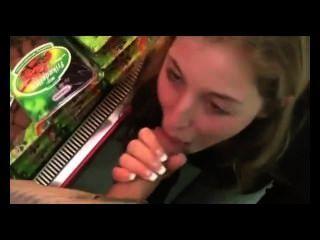 सुपरमार्केट में गर्म सेक्स