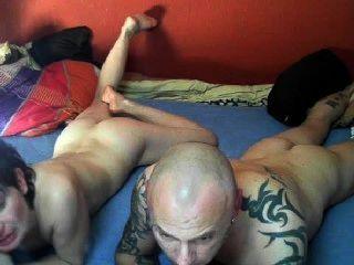 कैम पर सेक्सी जर्मन जोड़ी