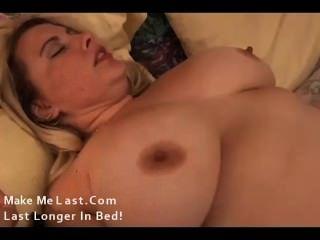 स्वादिष्ट बड़े स्तन गोरा BBW बकवास प्यार करता है