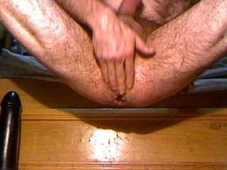 गुदा बड़ा dildo