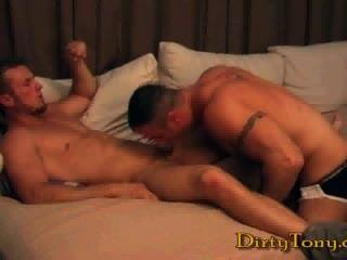 भव्य मांसपेशी लोभी सेक्स: स्पेंसर रीड और डेविन draz