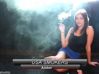 एम्बर धूम्रपान