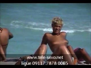 tele-sexo.net टॉपलेस 09117 7878 0065 समुद्र तट किशोर
