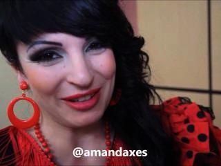 reddevilx.com  अमांडा एक्स एन Feria de Abril, mamadas लाख
