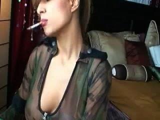 सेक्सी धूम्रपान ठाठ # 10