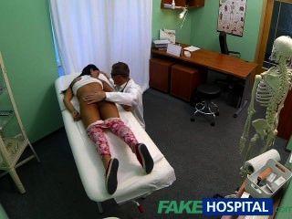 FakeHospital युवा किशोरों की नहीं महिला जन्म नियंत्रण पर डॉक्टरों सीआर के लिए पर झुकता