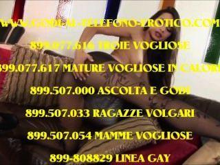 telefono erotico बस्सो costo 899-279914