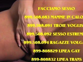 महिलाओं sposate cercano sesso अल telefono 899-055514