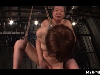 बांध दिया और उसे भट्ठा में गड़बड़ कठिन बंदी जापानी नग्न एमआईएलए