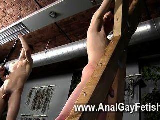 समलैंगिक फिल्म शिकार हारून एक सजा हो जाता है, तो उसकी दरार को ठीक से हो जाता है