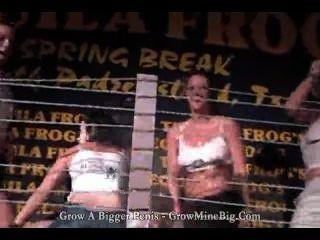टकीला मेंढक रों स्प्रिंग ब्रेक गीला tshirt प्रतियोगिता