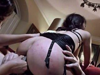 मैरिका HASE और Henessy: बुत गुदा सेक्स