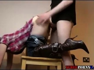 शौकिया cowgirl creampie