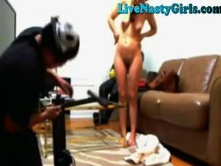वेब कैमरा लड़की पिज्जा लड़का तय सेक्स खिलौना है