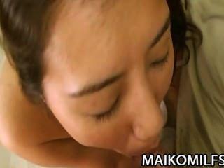 Kumiko सोमा - बालों बिल्ली जापानी कौगर गहरा प्रवेश कर