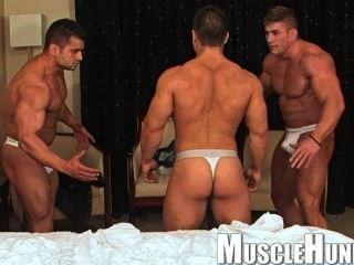 मांसपेशियों में पुरुषों