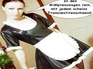 लेटेक्स नौकरानी नेटली transvestitenschweine im müllpresswagen scheiss होगा ...