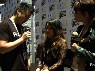 pornhubtv Meiko Askara 2014 AVN पुरस्कार में साक्षात्कार