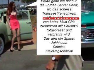 Annina Ucatis - मांद müllpresswagen लगाम, दू scheiss transvestitenschwein में