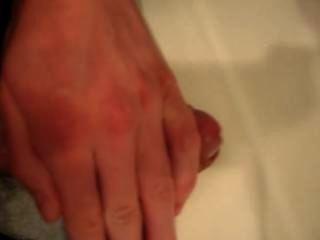 मेरे लिंग एक नकली योनि में कमबख्त के बाद ejaculating