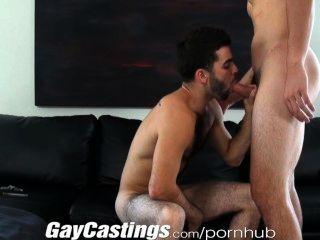 gaycastings प्यारा प्यारे अभिनेता नकदी के लिए अश्लील करने के लिए तैयार