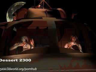 3 डी एनीमेशन: विदेशी आक्रमण।अध्याय 1