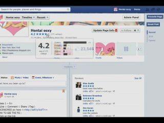 फेसबुक फैन पेज hentaicomicsexy