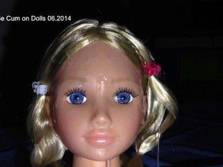 मेरी गुड़िया पर सह - गुड़िया पर cumshoot