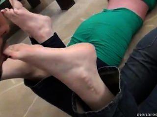 पैर की पूजा गुलाम