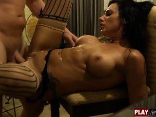 व्यापारी के साथ पैसे के लिए Juelz Ventura सेक्स