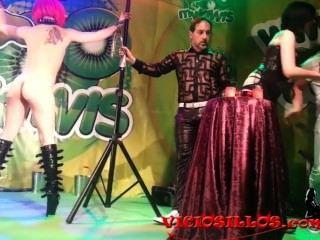 मागो पेपे शो viciosillos.com द्वारा मालकिन मिनर्वा Y नोरा barcela की विशेषता