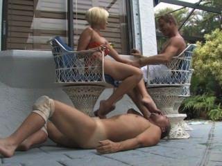 पैर Cuck
