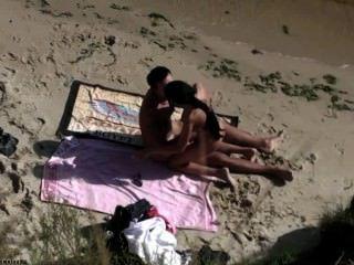 समुद्र तट सेक्स शौकिया # 38