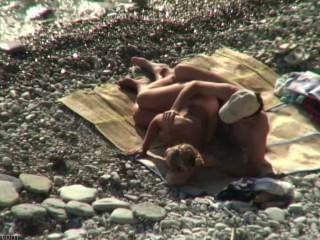 समुद्र तट सेक्स शौकिया # 17