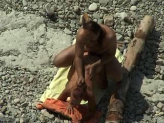 समुद्र तट सेक्स शौकिया # 06