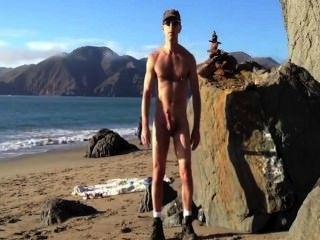 समुद्र तट wank प्रदर्शनी धार