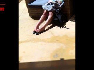 सेक्सी लड़की पैर diashow गर्मियों संस्करण