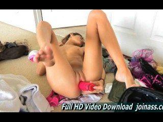 Jody बड़ा गुलाबी हस्तमैथुन संभोग करने के लिए