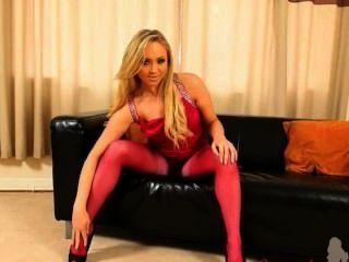 गुलाबी नायलॉन और pantyhose मेरे सेक्स जीवन है