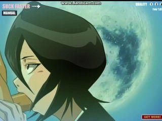 Rukia एक blowjob देता है