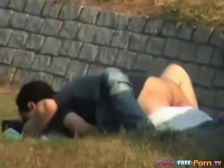 पार्क में कमबख्त दृश्यरतिक टेप किशोर