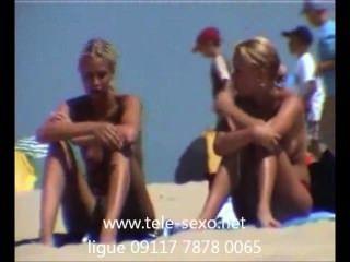 समुद्र तट छिपे हुए कैमरे tele-sexo.net 09117 7878 0065 पर प्यारा सुनहरे बालों वाली लड़कियों