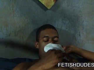 ब्लेन एवरेट: काला jockstrap दृश्य पर गर्म समलैंगिक काले