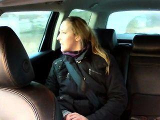 नकली टैक्सी चालक anally गौण पर श्यामला बेकार