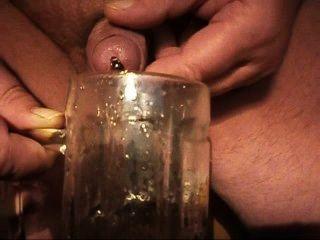 plasto61 extrem geil एमआईटी röhrchen im Schwanz pissen