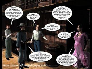 3 डी हास्य: छह बंदूक बहनों।अध्याय 1