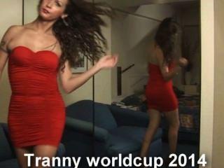 tranny worldcup 2014 निकी ladyboys के साथ यहाँ है