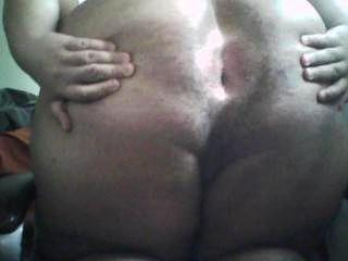 मोटा लड़का गधा फैलता